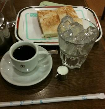 コンパル モーニングセット(アイスコーヒー).JPG